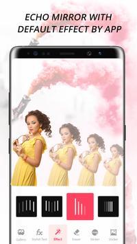 Echo Mirror Magic : Echo Effect Photo Editor poster