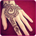 Simple Mehndi Design Image