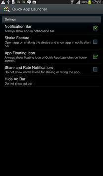 Quick App Launcher apk screenshot