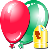 Best Balloon Shooting Game Kid icon