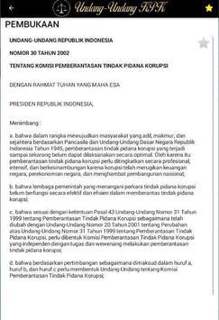 Undang-Undang KPK screenshot 3