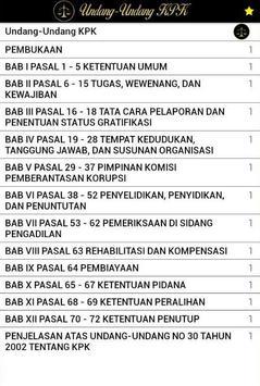 Undang-Undang KPK screenshot 1