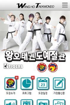 왕호태권도예절관 poster