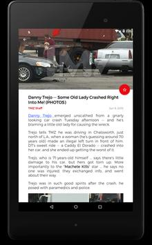 Unofficial Reader for TMZ apk screenshot