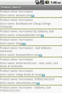 Product Search screenshot 3