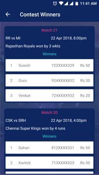 IPL Live Scores & Contest screenshot 2