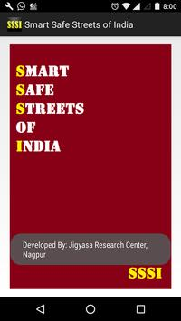 Smart Safe Streets of India poster