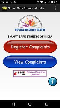 Smart Safe Streets of India screenshot 1
