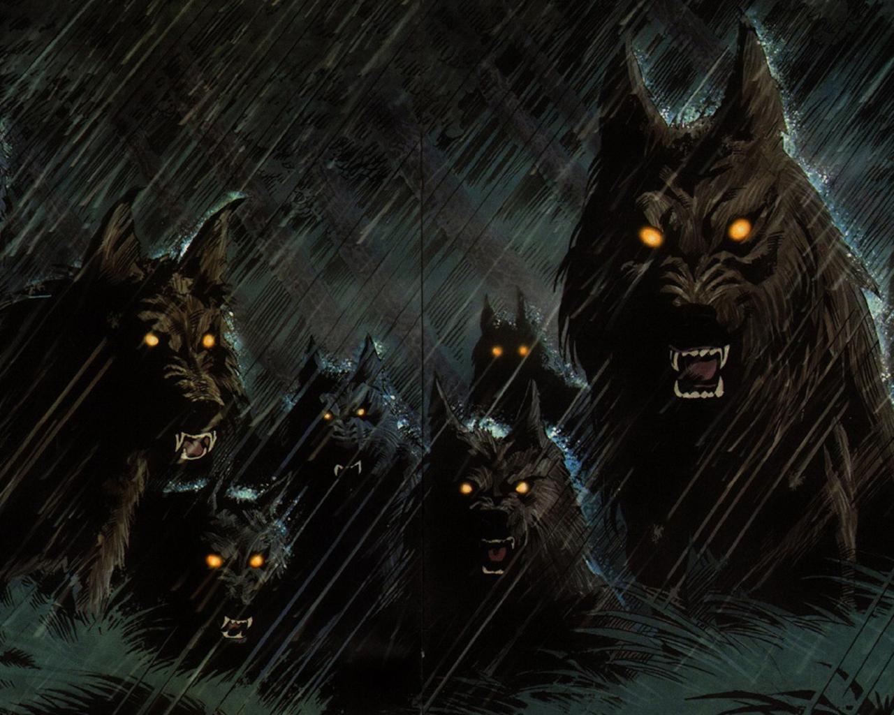 Android 用の 狼男のファンタジーの壁紙 Apk をダウンロード