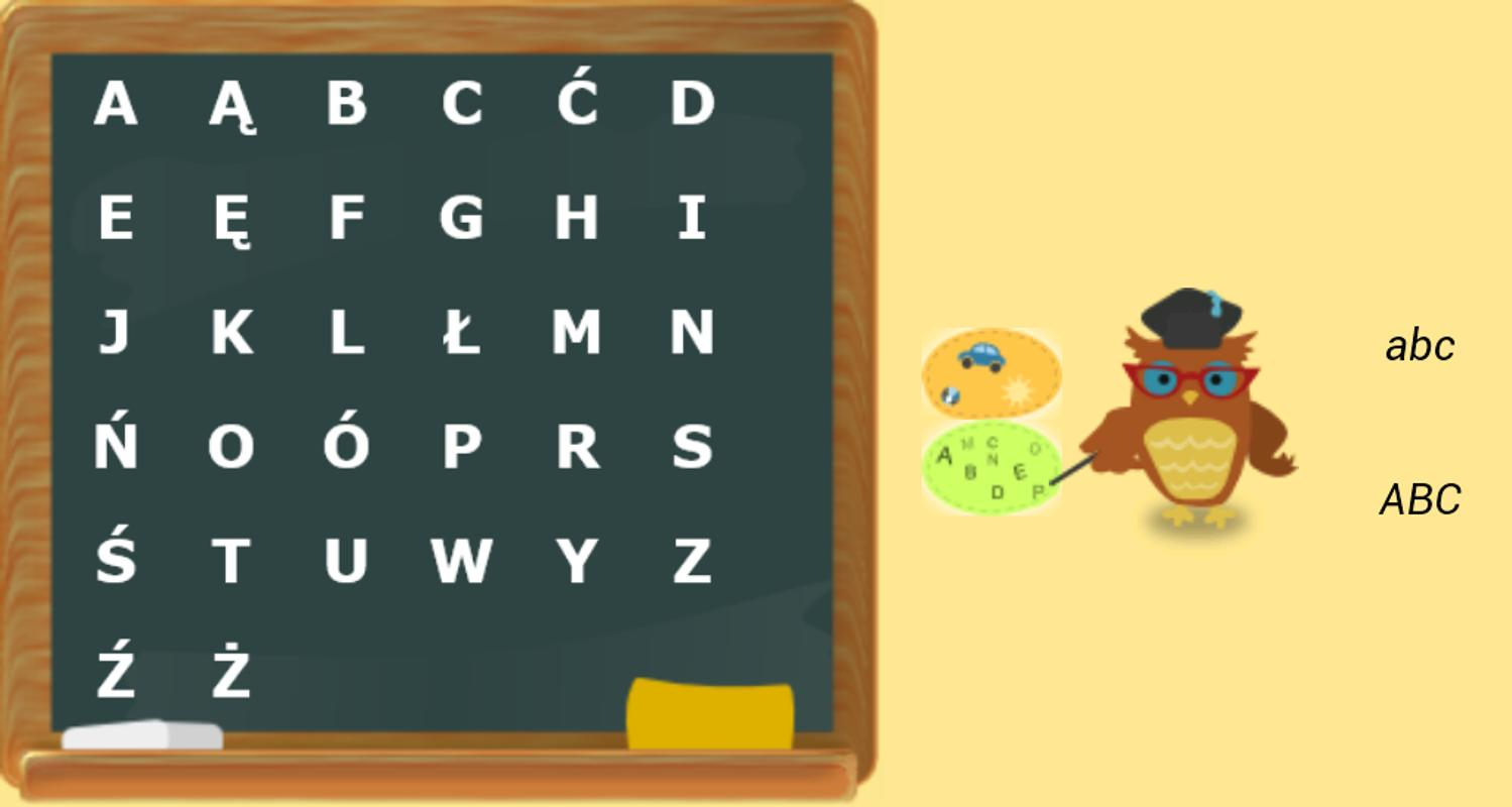 alfabet polski for android apk download