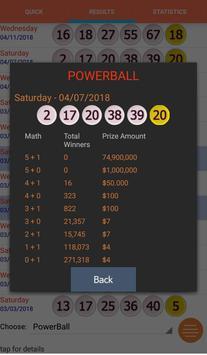 Lottery Analysis and Predictio apk screenshot