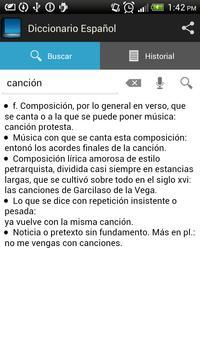 Diccionario Español screenshot 2