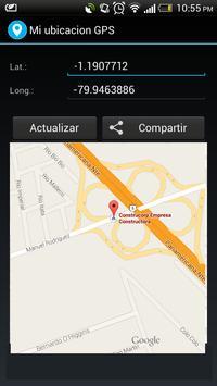 Mi ubicacion GPS screenshot 2