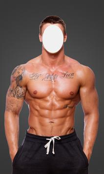 BodyBuilder Man Suit poster