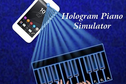 Hologram Piano Simulator poster