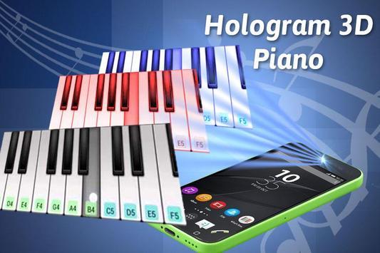 Hologram Piano Simulator screenshot 2