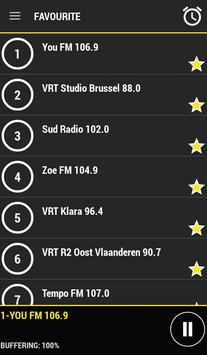 Radio Belgium apk screenshot