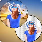 Add & Change Photo Background icon