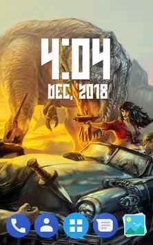 Dinosaur Wallpaper HD-poster