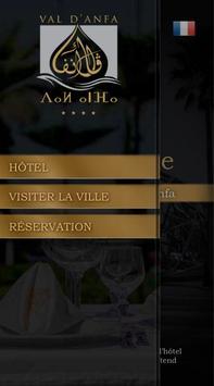 HOTEL VAL D'ANFA Casablanca poster