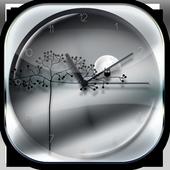 Transparent Simple Clock icon