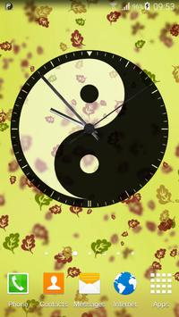 Yin Yang Clock Widget poster