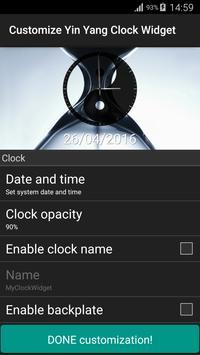 Yin Yang Clock Widget screenshot 16