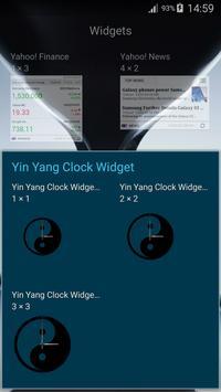 Yin Yang Clock Widget screenshot 17
