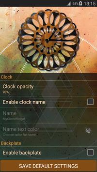 Clock for Home Screen screenshot 20
