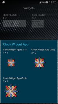 Clock Widget App screenshot 15