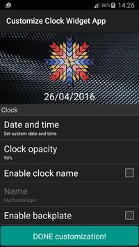 Clock Widget App screenshot 22