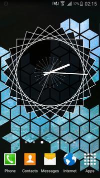 Clean Clock Widget apk screenshot