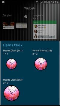 Theme Hearts Clock screenshot 11