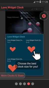 Love Theme Clock screenshot 23