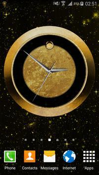 Luxury Clock Gold screenshot 16