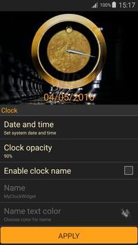 Luxury Clock Gold screenshot 22
