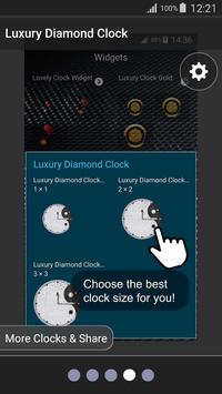 💎 Luxury Diamond Clock 💎 screenshot 15