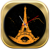 Paris Clock Widget icon
