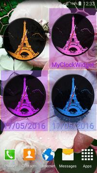 Paris Clock Widget screenshot 4
