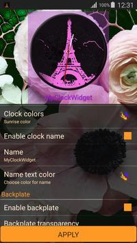 Paris Clock Widget screenshot 5