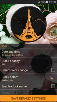 Paris Clock Widget apk screenshot