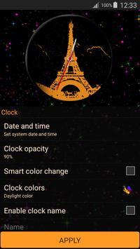 Paris Clock Widget screenshot 10