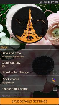 Paris Clock Widget screenshot 14