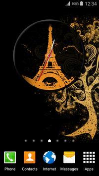 Paris Clock Widget apk screenshot
