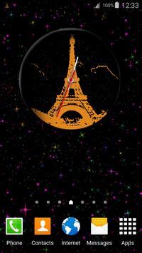 Paris Clock Widget screenshot 3