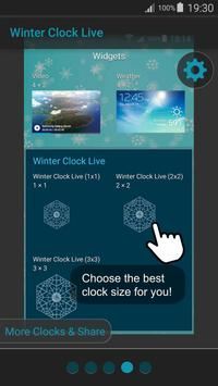 Winter Clock Live screenshot 14