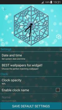 Winter Clock Live screenshot 1