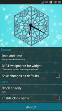 Winter Clock Live screenshot 6