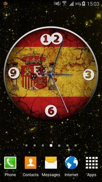 Spain Clock poster