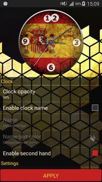 Spain Clock apk screenshot